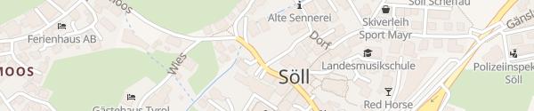 Karte Gemeindeamt Söll