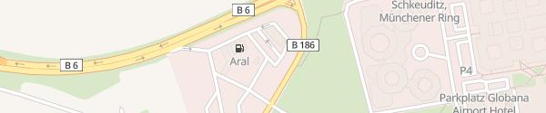 Karte Aral Autohof Schkeuditz