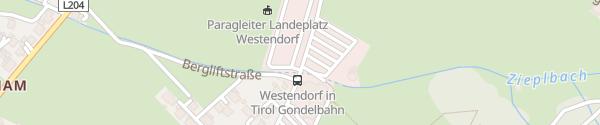 Karte Alpenrosenbahn Westendorf