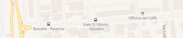 Karte Via Giuseppe di Vittorio Ravenna