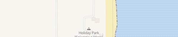 Karte Spiaggia e Mare Holiday Park Porto Garibaldi
