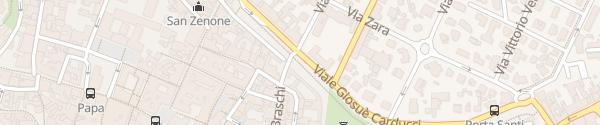 Karte Enel Drive Säule Cesena