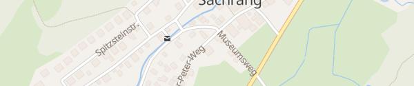 Karte Kindergarten Sachrang Aschau im Chiemgau