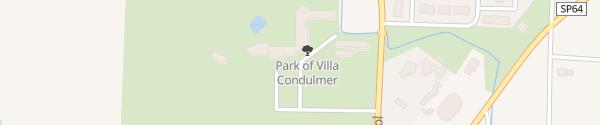 Karte Hotel Villa Condulmer Zerman