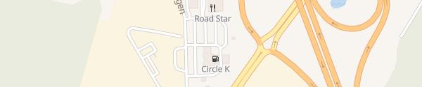 Karte IONITY Circle K Varberg