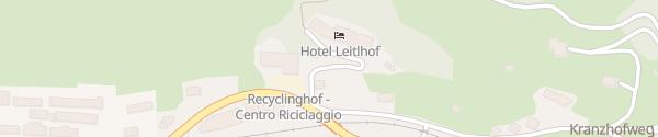 Karte Hotel Leitlhof Innichen