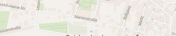 Karte Parkhaus - Park des Friedens Reichenbach im Vogtland