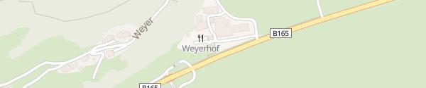 Karte Weyerhof Bramberg am Wildkogel
