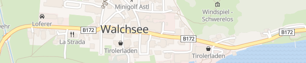 Karte Hotel Walchsee Walchsee