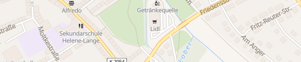 Karte Lidl Friedensstraße Bitterfeld-Wolfen