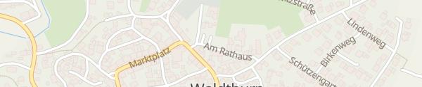 Karte Rathaus Waldthurn