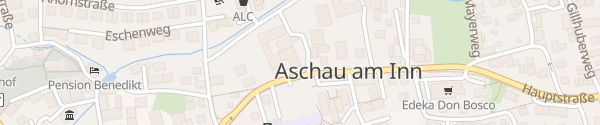 Karte E-Bike Station: Bräustüberl Ametsbichler Aschau am Inn