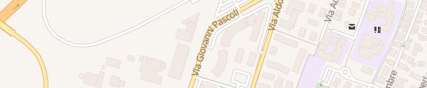 Karte Via Giovanni Pascoli Quarto d'Altino