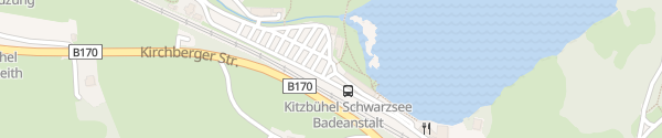 Karte Strandbad Schwarzsee Kitzbühel