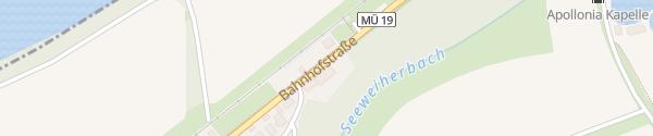 Karte E Bike Station zum Bahnhof Jettenbach