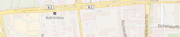 Karte Lidl Windscheidstraße Leipzig