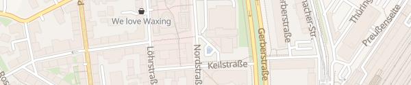 Karte The Westin Leipzig Leipzig