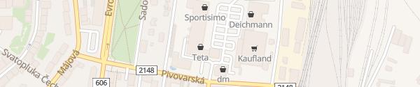 Karte Kaufland Cheb