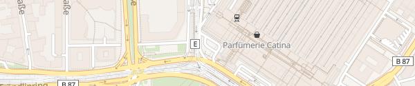 Karte DC-Lader Hauptbahnhof Leipzig
