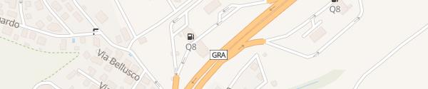 Karte Stazione Di Servizio Selva Candida Esterna Roma