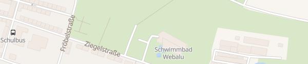 Karte E-Bike Ladesäule Webalu Werdau