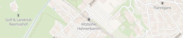 Karte Hahnenkammbahn Kitzbühel