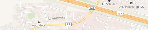 Karte Autohaus Radlbeck Wörth an der Donau