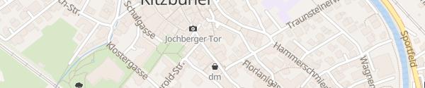 Karte Hotel Weisses Rössl Kitzbuehel