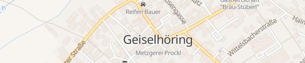 Karte Rathaus Geiselhöring