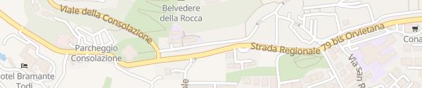 Karte Enel Drive Säule Todi
