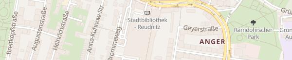 Karte Kaufland Reudnitz Leipzig