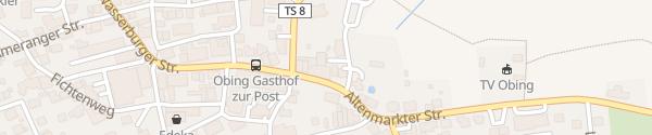 Karte Auto Gassner Obing