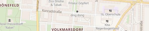 Karte Elisabethstraße Leipzig