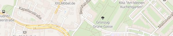 Karte Autohaus Müller Leipzig