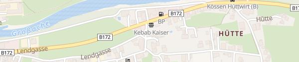 Karte Auto Aicher Kössen