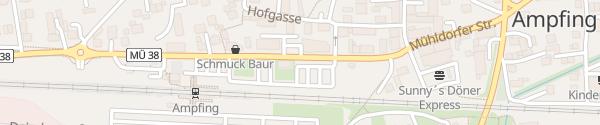Karte Bahnhof Ampfing