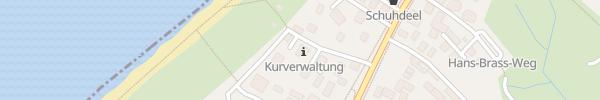 Karte Kurverwaltung Ahrenshoop