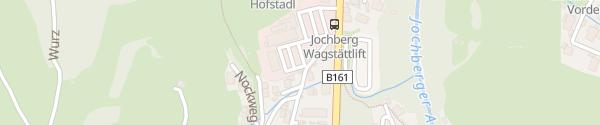 Karte Wagstättlift Jochberg