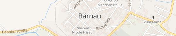 Karte Marktplatz Bärnau