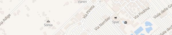 Karte Marina di Venezia Punta Sabbioni