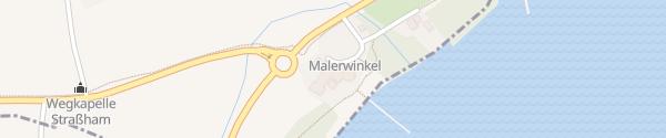 Karte Hotel Malerwinkel Seebruck