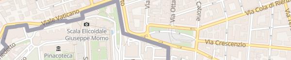 Karte Piazza del Risorgimento Rom