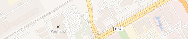Karte Volkswagen Automobile Leipzig