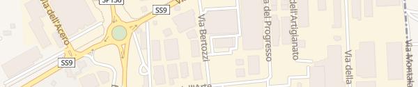 Karte Via Bertozzi Santarcangelo di Romagna