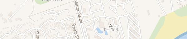 Karte Camping Village Dei Fiori Cavallino-Treporti