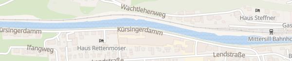 Karte Fahnen-Gärtner Mittersill