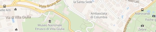 Karte Enel Drive Säule Roma