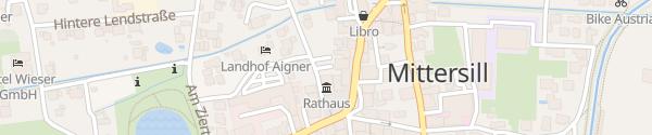 Karte Rathaus Mittersill