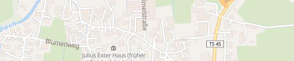Karte Gasthaus Feldwies Übersee