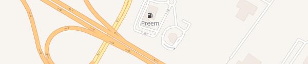 Karte McDonald's Falkenberg